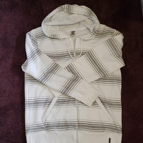 Route 66 Other - Mens hooded zip up sweatshirt
